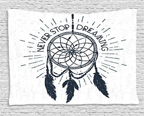Inspiring Ambesonne Inspirational Dreamcatcher Illustration