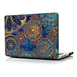 iCasso Macbook Pro 13 Inch Case Art Printing Matte Hard Shell Plastic Protective Cover For Macbook Pro 13 Inch With CD-ROM Model A1278 (Bohemia)
