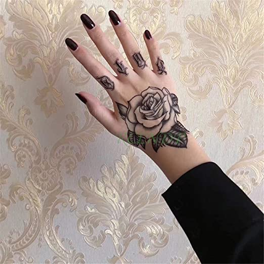 3pcs-Impermeable Reloj de la Etiqueta engomada del Tatuaje ...