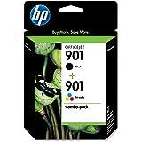 HP 901 Retail Combo Pack Ink Cartridges - 1 each 901 Black & 901 Color (CN069FN#140)