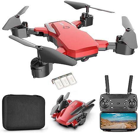 Opinión sobre ANAN Drone con Cámara 4K HD Drone, Plegable Drone Rollo de 360 °, RC Drone para Niños, 60 Minutos de duración de la batería(con 3 Pilas), App WiFi para iOS/Android