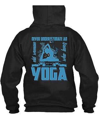 Amazon.com: My Loves Hoodies - Camiseta de yoga para mujer ...