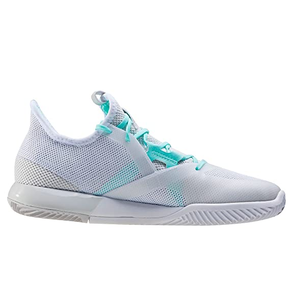 adidas Adizero Defiant Bounce W, Sneakers Femme - Différents Coloris - Multicolore (Ftwbla/Ftwbla/Griuno), 40 EU