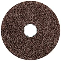 "PFERD 48127 Combiclick Non-Woven Disc, Soft Type, 4"" Diameter, 12,000 rpm, Medium Grit (Pack of 10)"