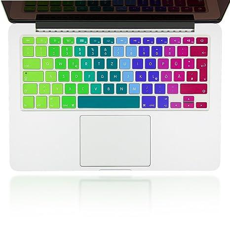 NALIA Folio de protección de Silicona Keyboard para la protección Teclado para Apple MACBOOK Air,