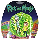 Rick and Morty Sweatshirt Crewneck women/men harajuku style t-shirts