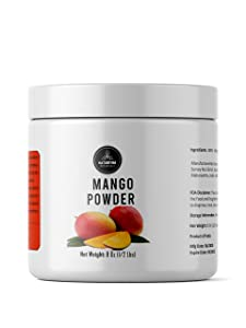 Naturevibe Botanicals Mango Powder, 8 ounce | Adds Flavour | Smoothies and Beverages