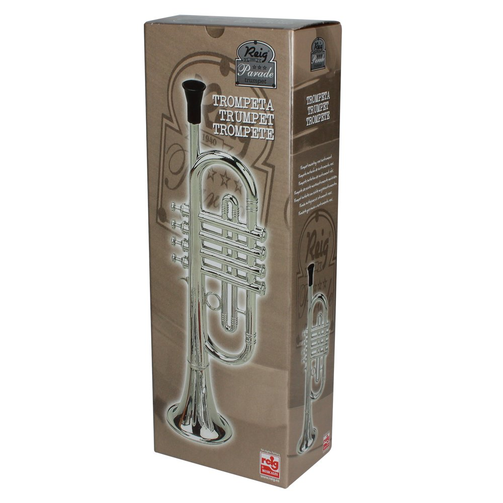 Reig Deluxe Trumpet (Silver) by by Reig (Image #2)