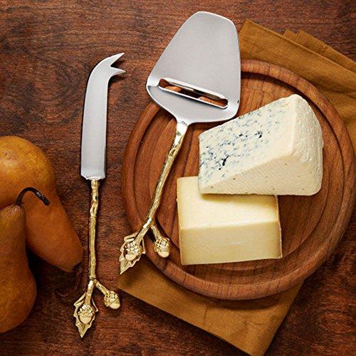 Golden Acorns Cheese Knives Set of - Knife Fruit Acorn