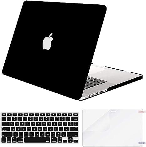 MOSISO Carcasa r/ígida de pl/ástico con Teclado y Protector de Pantalla para MacBook Pro de 15 Pulgadas con CD-ROM