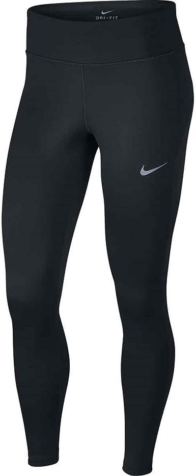 Parlamento viudo Ascensor  Amazon.com: Nike Therma mallas de Running para mujer, L, Negro: Clothing