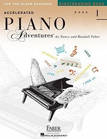 Accelerated Piano Adventures Sightreading Book 1 (Faber Accelerated Lesson 1)