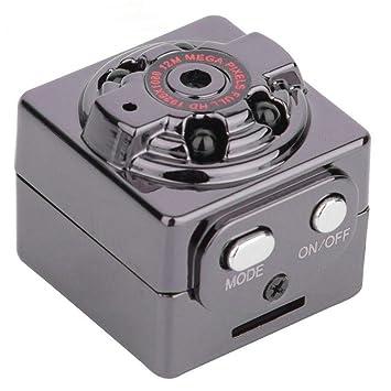 Klicop SQ8 Full HD 1080 P Mini Coche DV DVR cámara espía Oculta videocámara IR visión Nocturna Mini diseño de cámara: Amazon.es: Electrónica