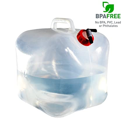 Amazoncom SUNDERPOWER Collapsible Water Container 5 Gallon BPA