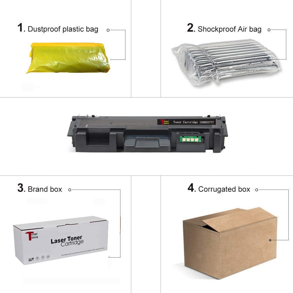106r02777 TonerSave for Xerox Workcentre 3215 Toner Xerox Phaser 3260 Toner 3052 3260DNI 3215 3225 3 Pack