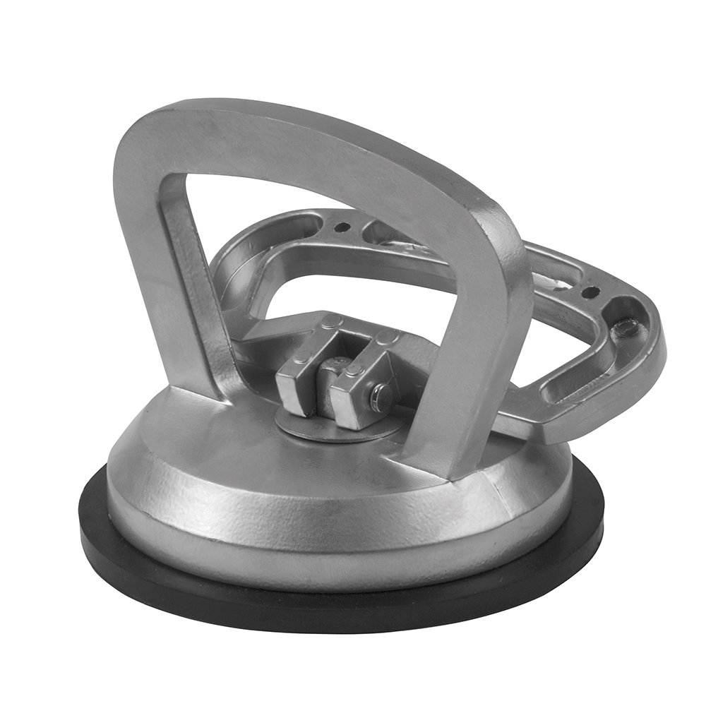 Suction Pad Cup Aluminium Heavy Duty 50kg Glass Lifter Carry Car Dent Puller Sucker 1