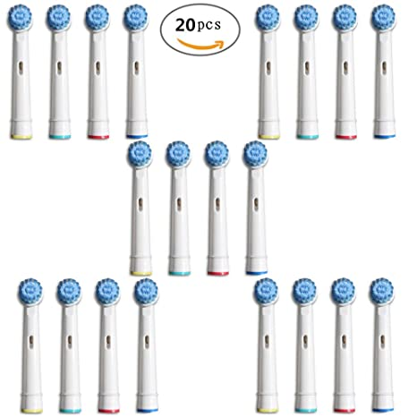 U-Prime® Cabezales De Recambio Para Cepillo De Dientes Eléctrico Oral-B 3D Sensitive ...