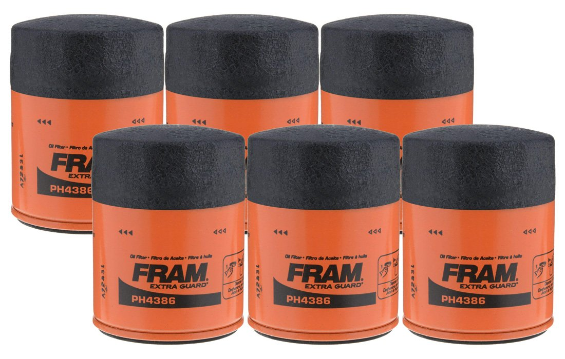 Fram PH4386 Extra Guard Passenger Car Spin-On Oil Filter