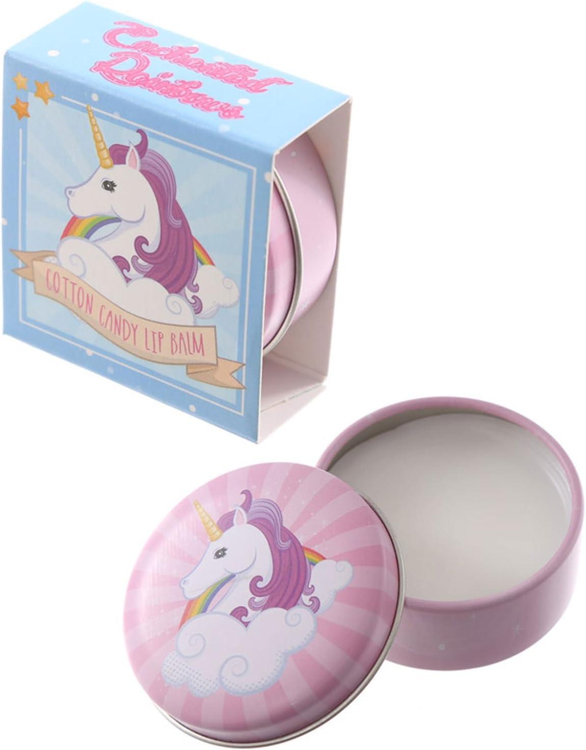 Lip Balm algodón Candy rosa unicornio lata: Amazon.es: Belleza