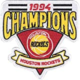 1994 Houston Rockets NBA Finals Champions Embroidered Basketball Jersey Patch