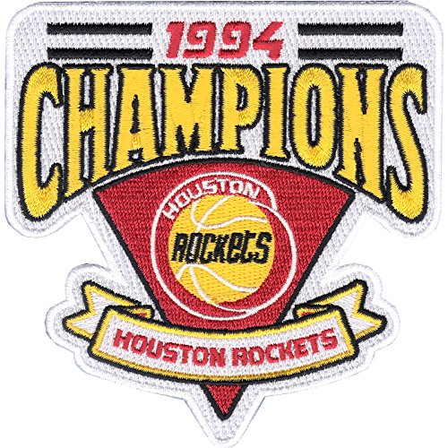 1994 Houston Rockets NBA Finals Champions Embroidered Basketball Jersey Patch by Patch Collection