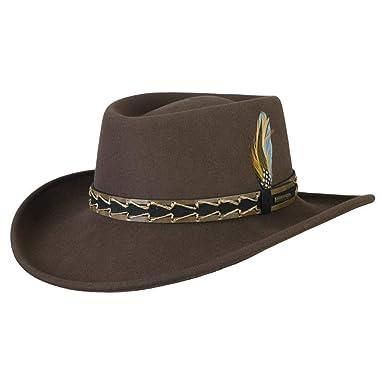 19fc7508c0d93 Stetson Vallejo VitaFelt Western Hat men´s wool felt hats (S (54-55 ...