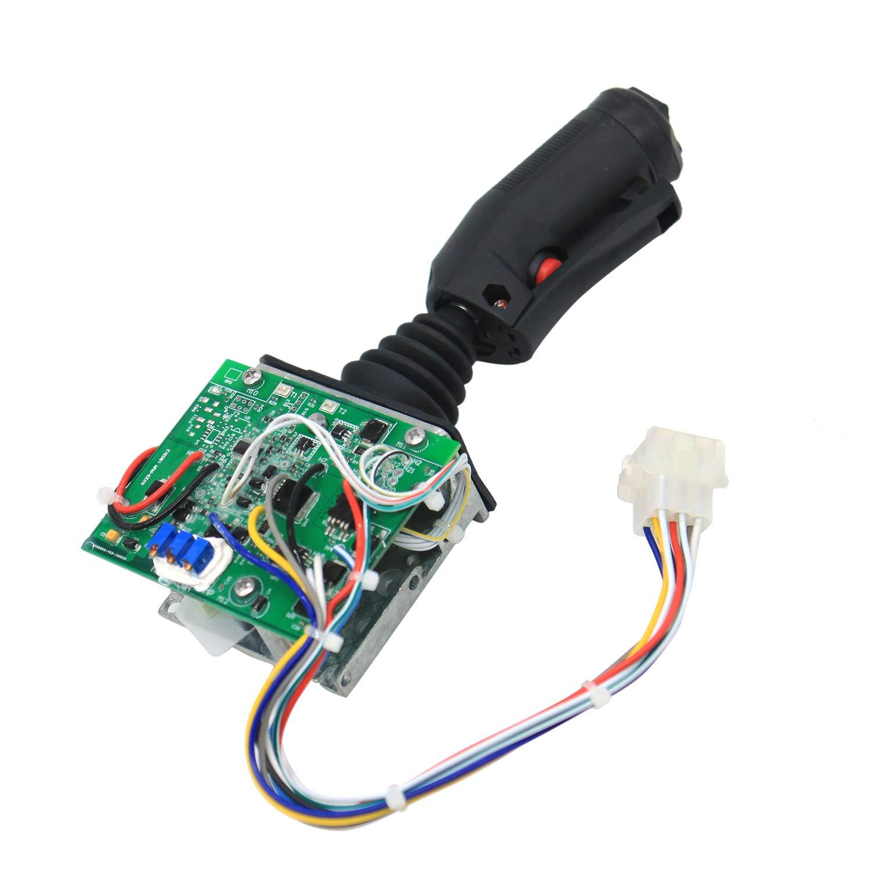 Weelparz 123995 Joystick Controller for SkyJack Scissor Lift 3219 3226 4626 4832