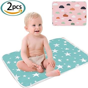 Random Color Baby Kid Cotton Pee Pad Mattress Waterproof Diapering Sheet Protector Menstrual Pads