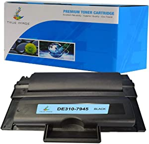 TRUE IMAGE Compatible Toner Cartridge Replacement for Dell 310-7945 (Black 1Pack)