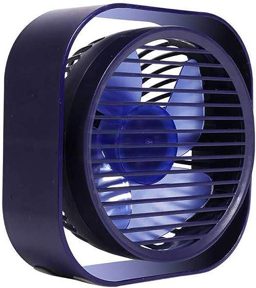 Outdoor Travel for Home Office XB Small Personal USB Fan Portable Mini Table Desk Fan Noiseless USB Cooling Fan