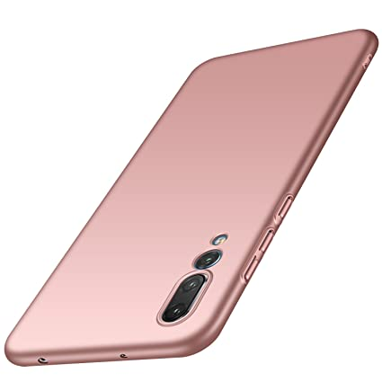 designer fashion 0d896 374de Anccer Huawei P20 Pro Case [Colorful Series] [Ultra-Thin] [Anti-Drop]  Premium Material Slim Full Protection Cover for Huawei P20 Pro 2018 (Smooth  Rose ...
