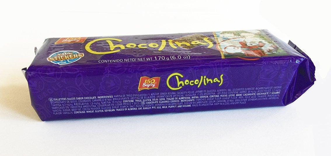 PACK de 3 Galletitas CHOCOLINAS de Chocolate de BAGLEY. Las autenticas galletitas Argentinas. Pack especial Chocotorta.: Amazon.es: Alimentación y bebidas