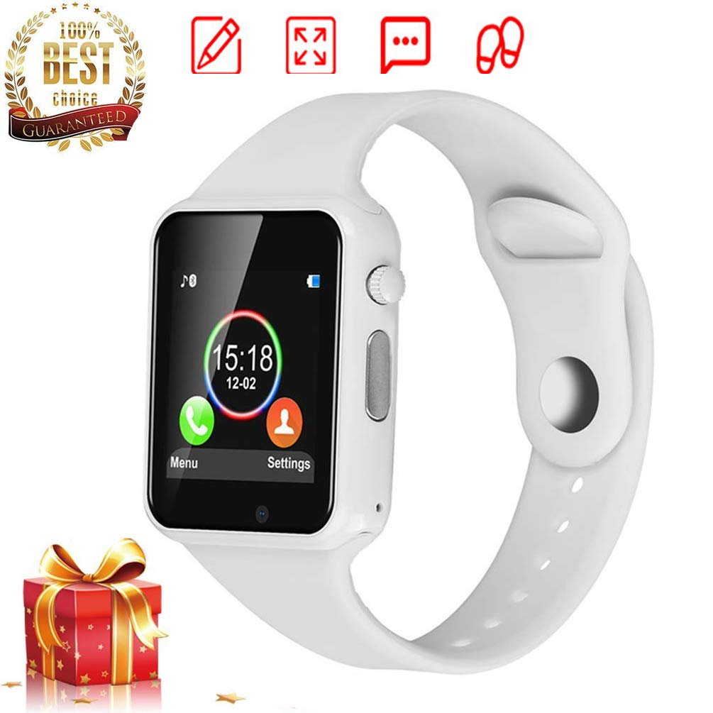 DOROIM Smartwatch, Smart Watches for Android Phone, Bluetooth Smart Watch with Soft Strap, Sport Watch Compatible Samsung LG Android Phone