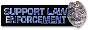 Support Law Enforcement Bumper Magnet