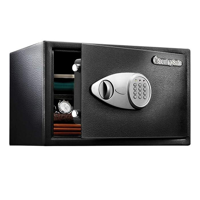 SentrySafe Security Safe, Extra Large Digital Lock Safe, 1.2 Cubic Feet, X125