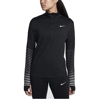 411584e8ed39 Nike Women s Dry Element Flash Running Top Black Anthracite Size Medium