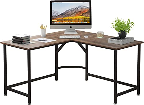 ELEGANT L-Shaped Game Computer Desk 55″ x 55″