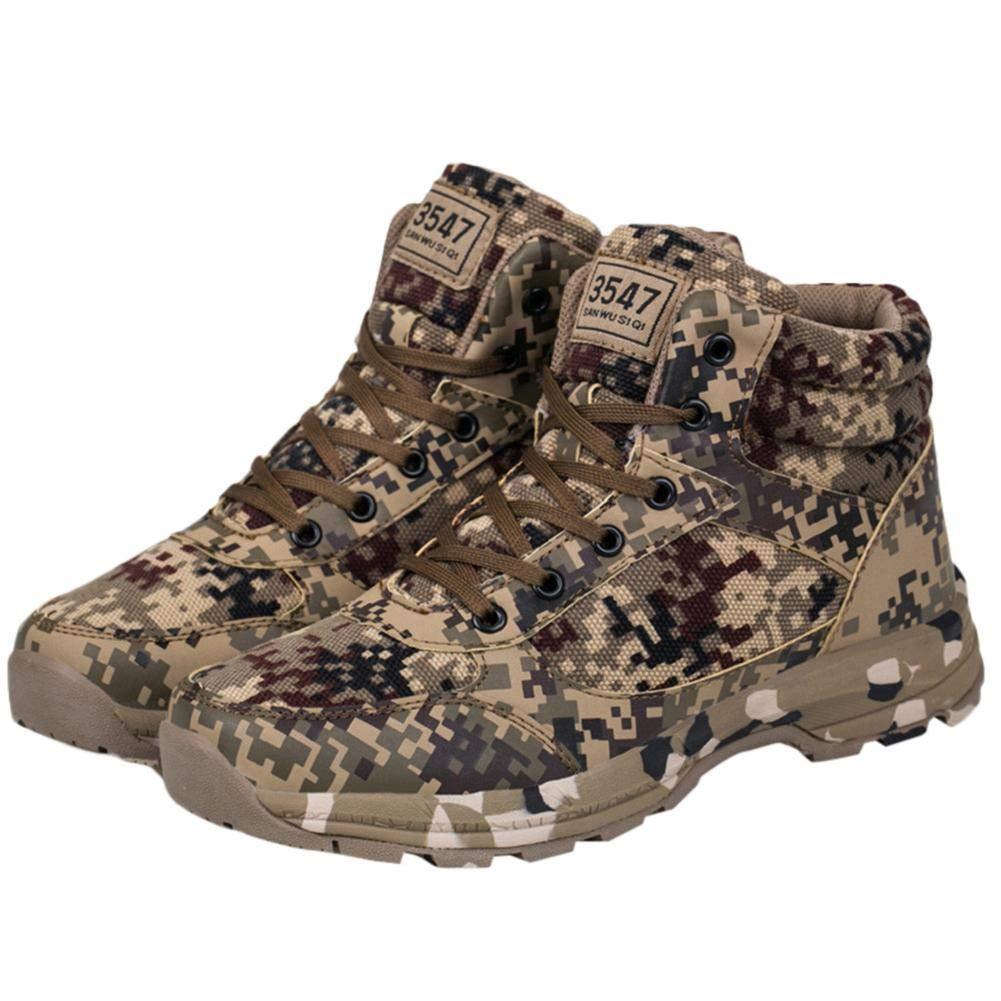 NINGSANJIN Winterschuhe Freizeit Outdoor Männer Turnschuhe Camouflage Camouflage Camouflage Style Keep Warm Desert Militärstiefel 39-46 46662a