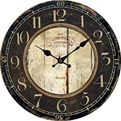 LightInTheBox Euro Country Vintage Wood Indoor Wall Clock Home Decor Clocks Size M