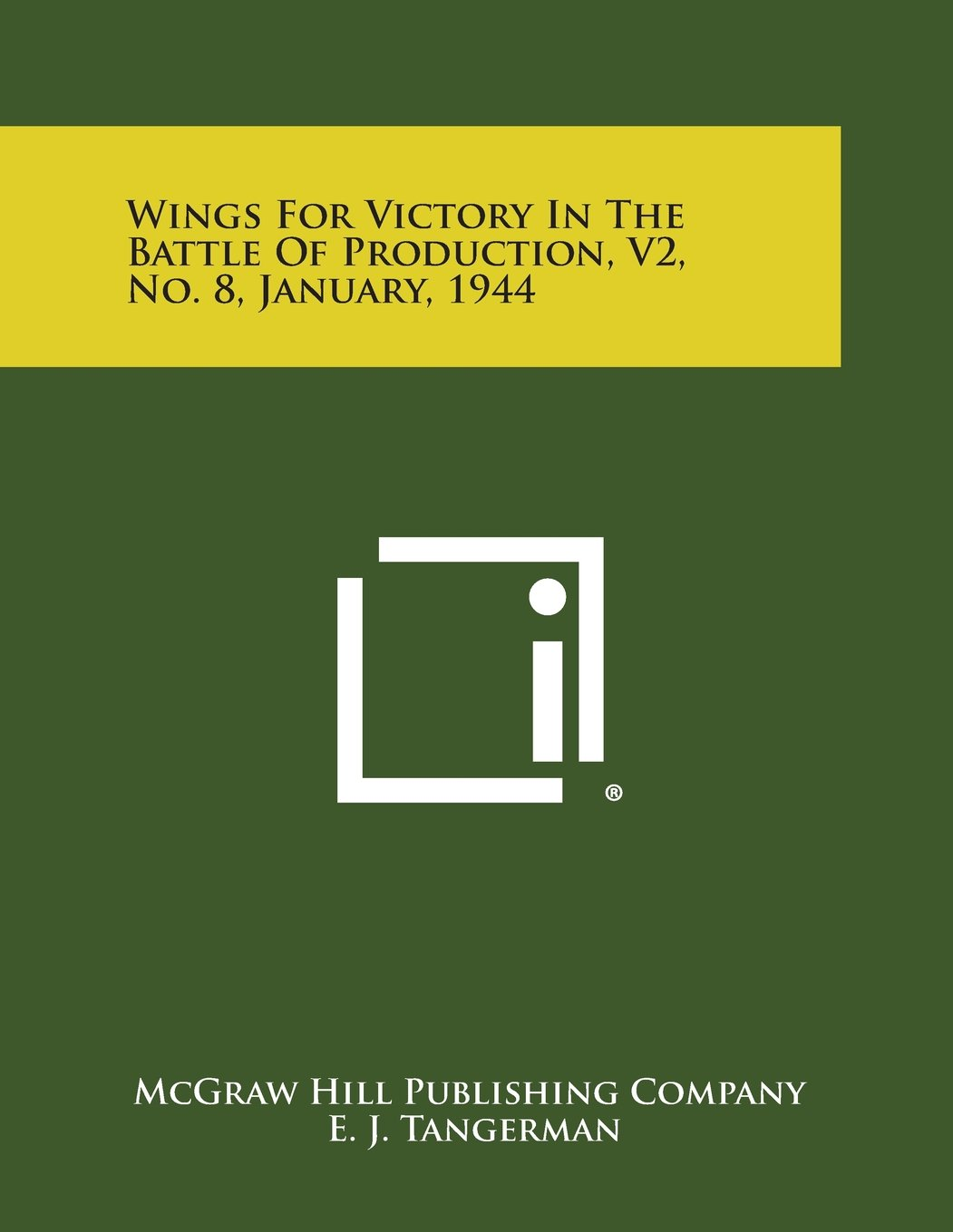 Download Wings for Victory in the Battle of Production, V2, No. 8, January, 1944 ebook
