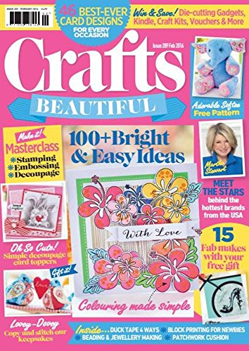Craft Beautiful: 100+ Bright and easy ideas