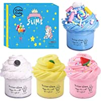 Cutiecute Slime Kit,Super Soft & Non-Sticky, Stress Relief Toy Scented Sludge Toy for Kids Education, Party Favor, Gift…