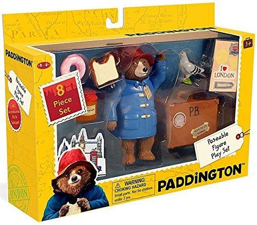 Paddington Bear Teddy Bear Paddington Movie Toys & Suitcase 8 Pc Set from YOTTOY