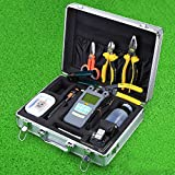 Genneric 25 in 1 Fiber Welding Tool Kit Hs-30 Fiber Cleaver Power Meter Cable Tester Stripping Tool