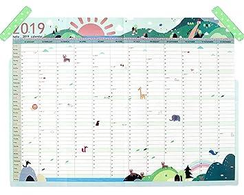 Calendario 2060.Calendario 2019 Calendario De Pared Con Mini Calendario