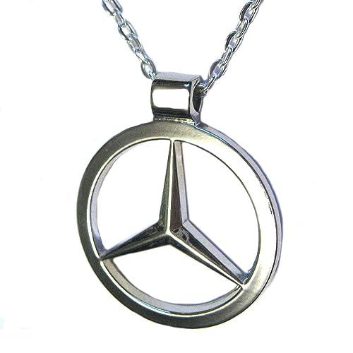 Vanillatron Mercedes Benz Luxury Sports Car Logo Emblem Stainless