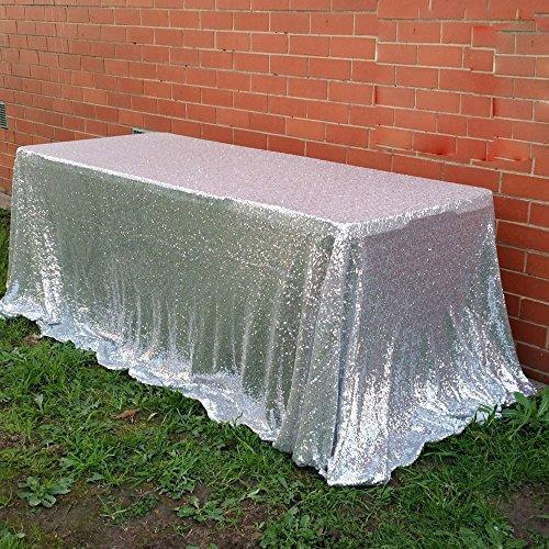 - sequin tablecloths 50
