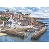 Gibsons Crail Harbour Jigsaw Puzzle, 1000 piece