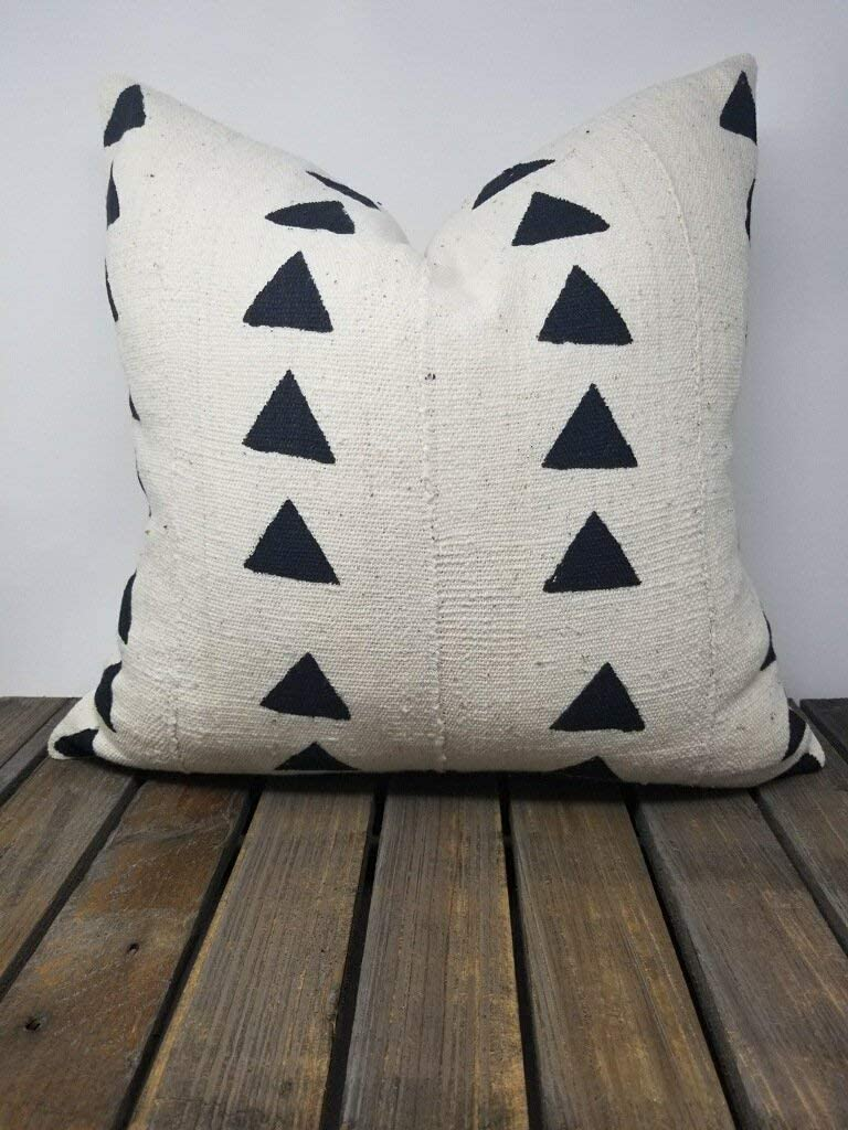 Mudcloth Pillow Cover Authentic African