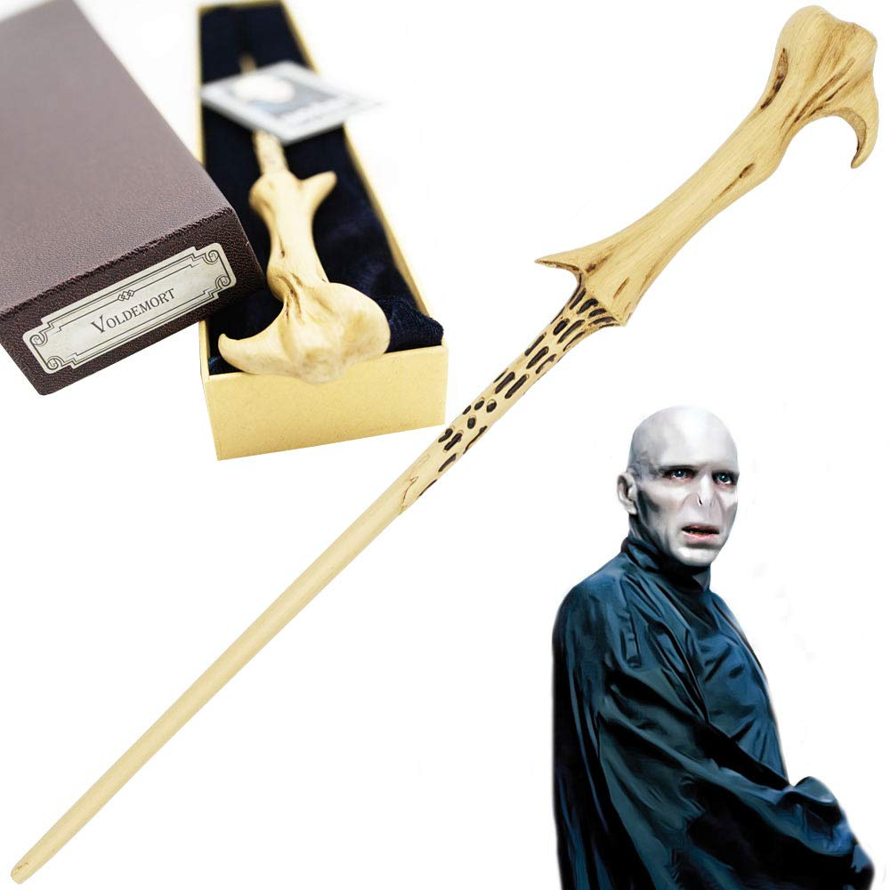 R.M.C Lord Voldemort - Baguette Personnage Haute qualité Noyau métal
